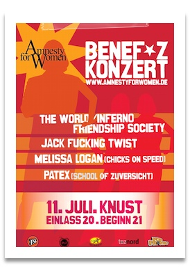 flyer konzert amnesty for women