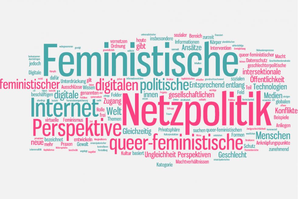 Wortwolke Feministische Netzpolitik
