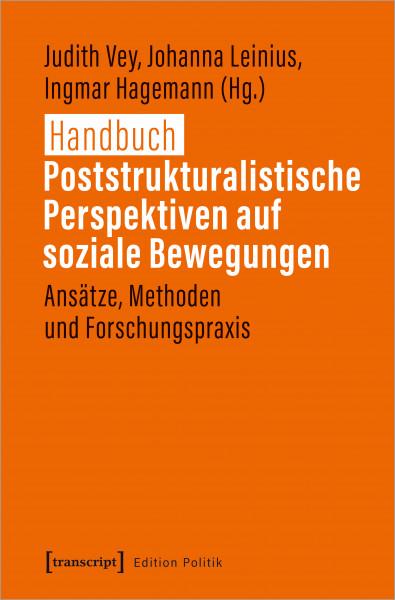 Cover Handbuch Poststrukturalistische Perspektiven auf Soziale Bewegungen
